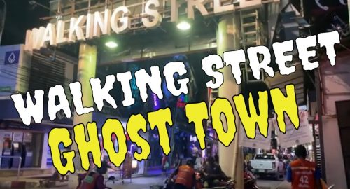 , Pattaya – 'Walking Street' ghost town
