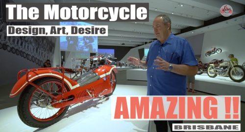 , The Motorcycle – Australia's new bike exhibition